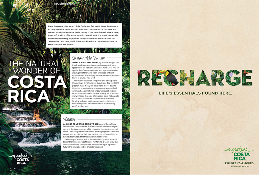 PRINT ADVERTORIAL AND BRAND AD