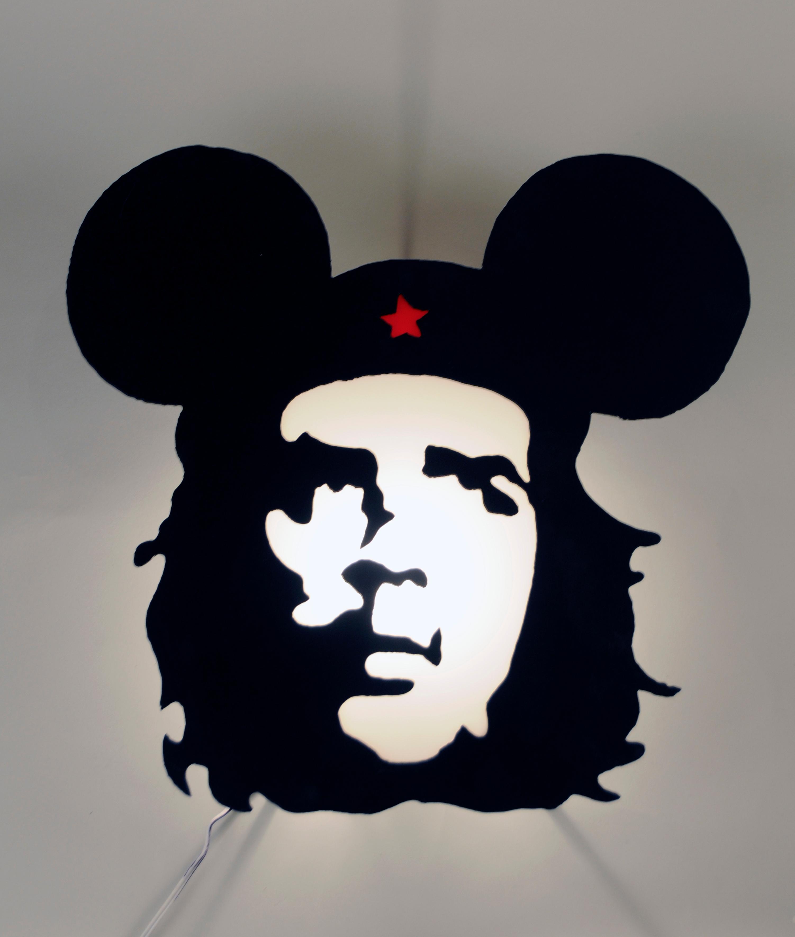 Che Guevara as Mickey Mouse