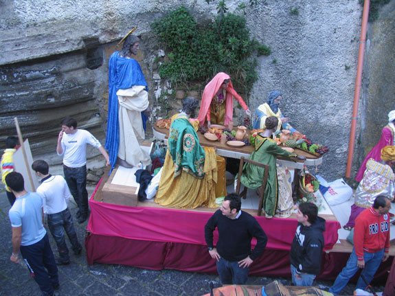 The Mysteries of the Dead Christ procession