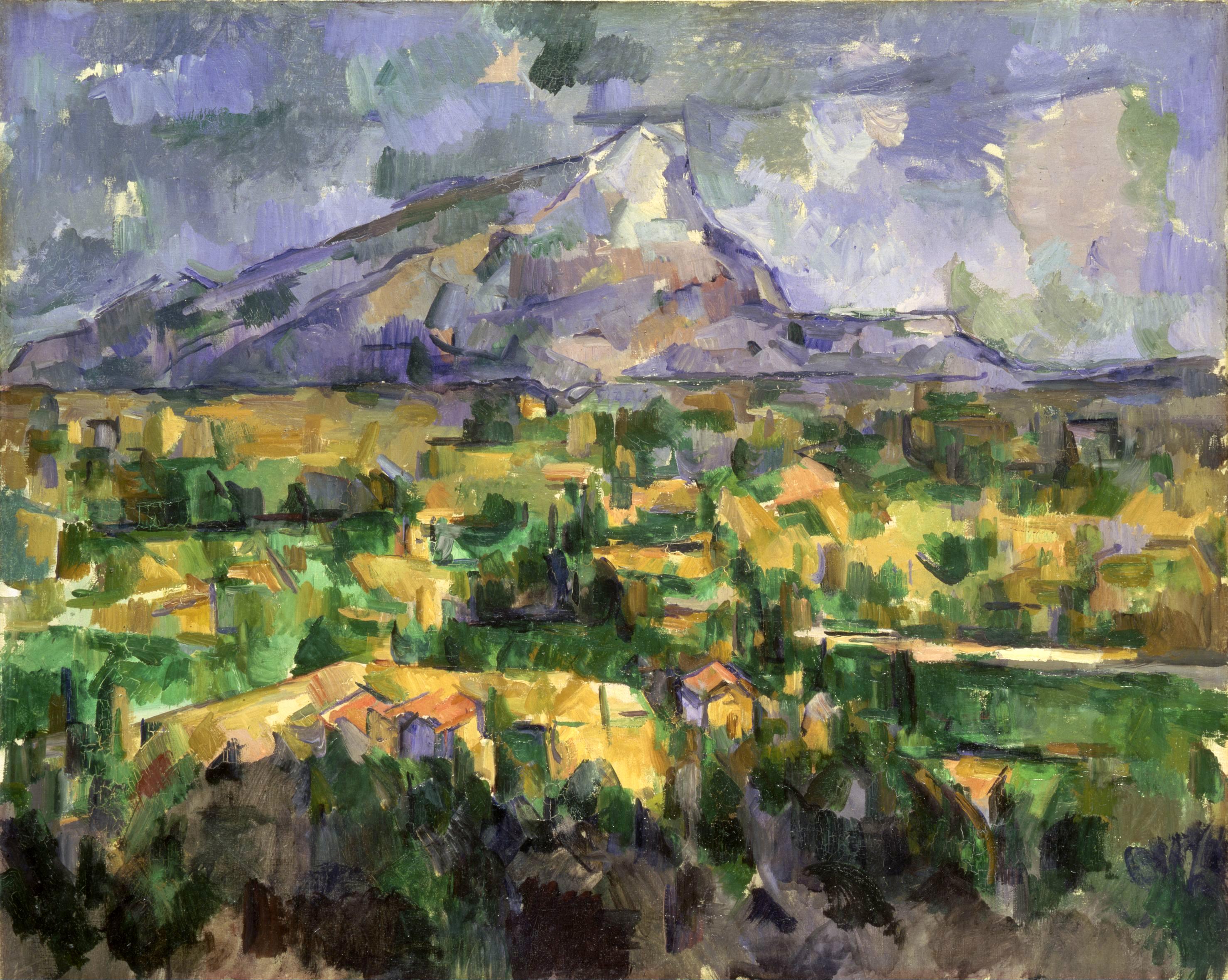 Paul Cezanne: Mont Sainte-Victoire