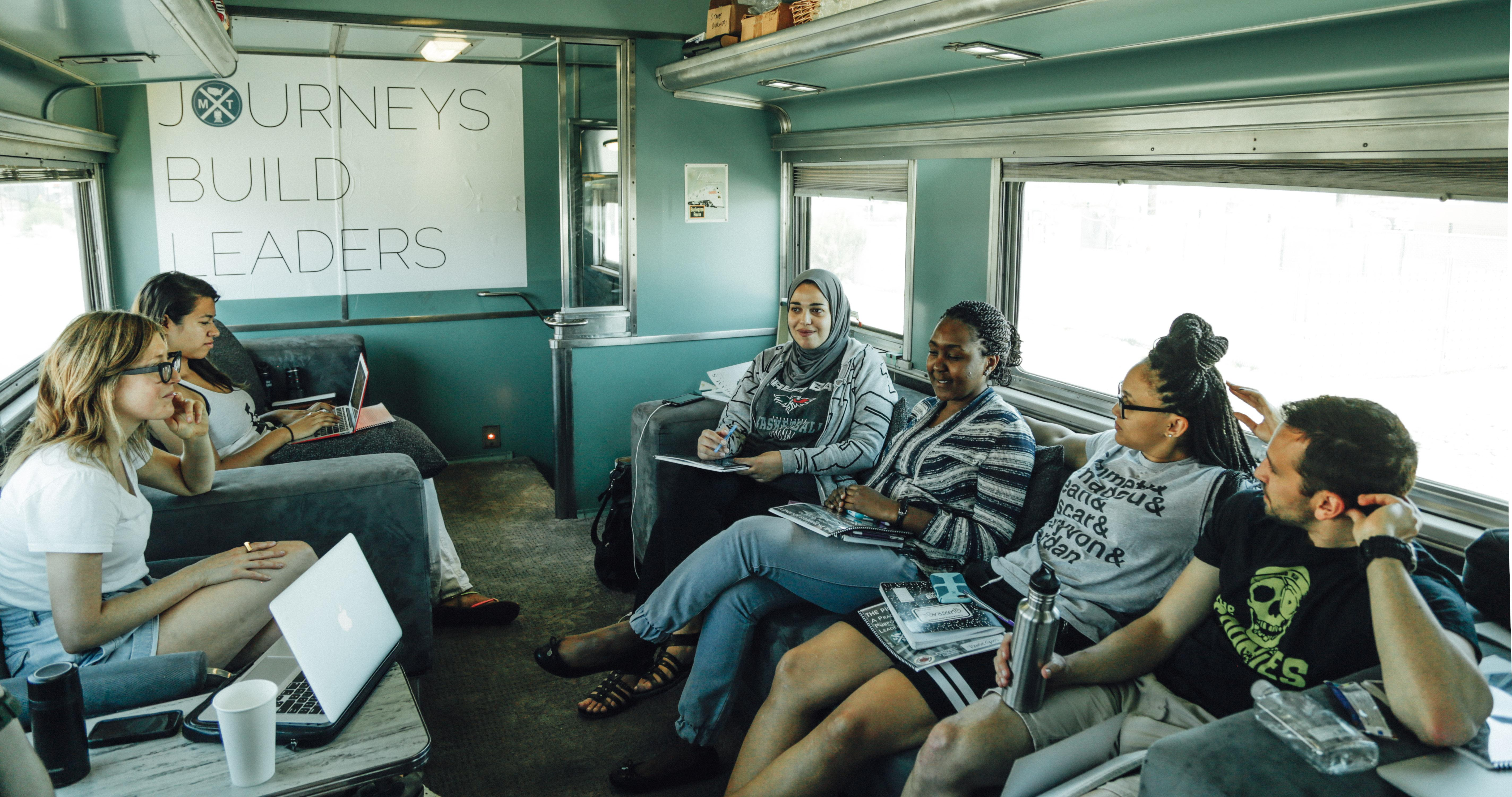 Discussion in the Lounge Car.jpg