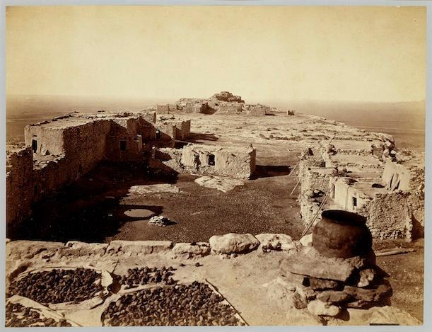 """Hopi Mesa"" by John K. Hillers, c. 1872"