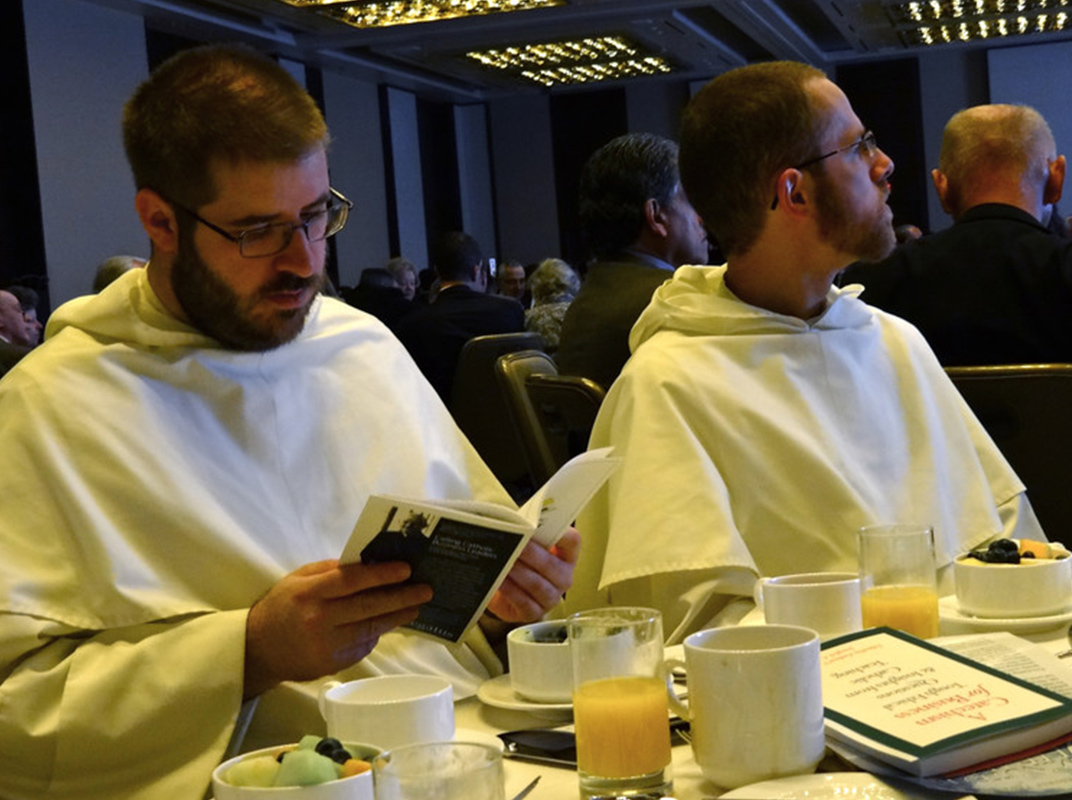 There is a wide diversity among breakfast attendees.