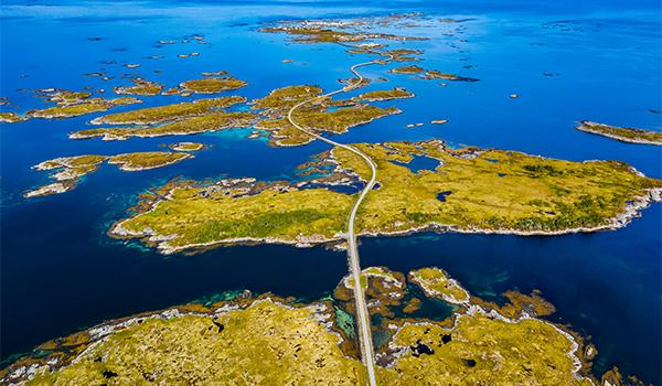 The island of Smøla, Norway, is thought by many to be ultima Thule, first described by the Greek explorer Pytheas.