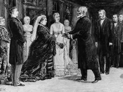 Josiah's audience with Queen Victoria on March 5, 1877