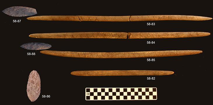 Upward Sun River Artifacts