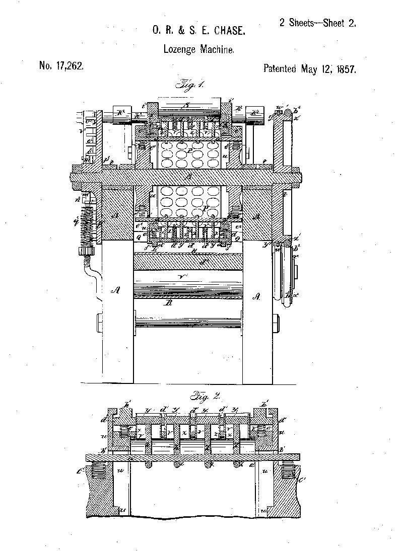 Lozenge machine patent.png