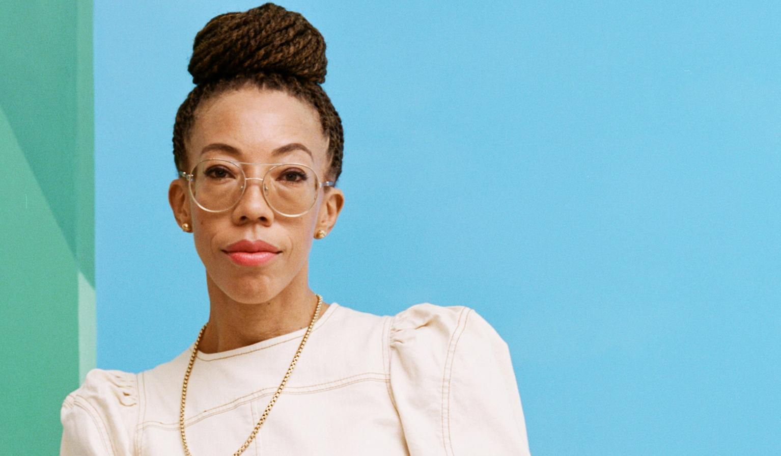 This fall, Amy Sherald's artwork drew crowds around the block for a new exhibition of her portraits.
