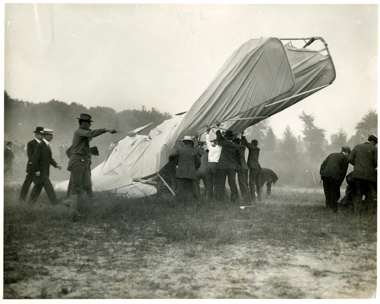 Furnas witnessed the 1908 crash