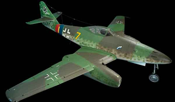 The Messerschmitt Me 262 A-1a Schwalbe, meaning Swallow, held in the Smithsonian's National Air and Space Museum was captured in 1945 by a special U.S. Army Air Force team led by Col. Harold Watson. The Americans and British, who were also developing jet aircraft, used captured Swallows to enhance their own programs.