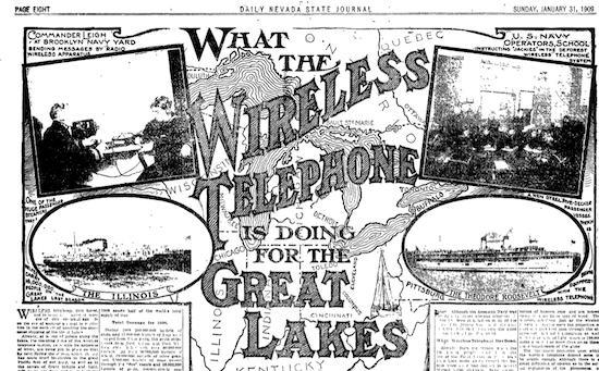 January 31, 1909 Nevada State Journal