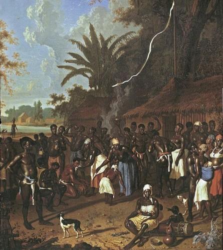 A slave dance