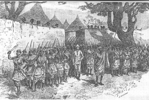 Women warriors parade