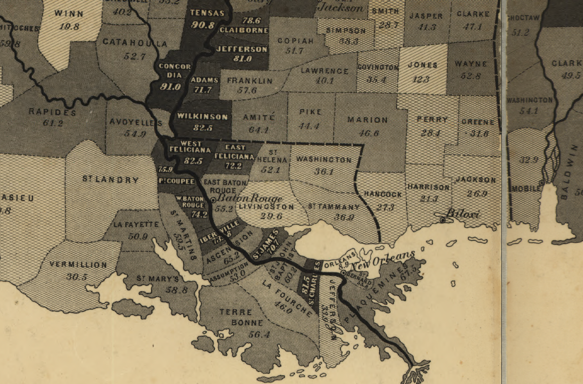 Southern Partisan Online - Maps Reveal Slavery\'s Spread