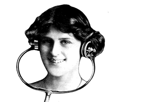 Photo from Electrophone advertisement