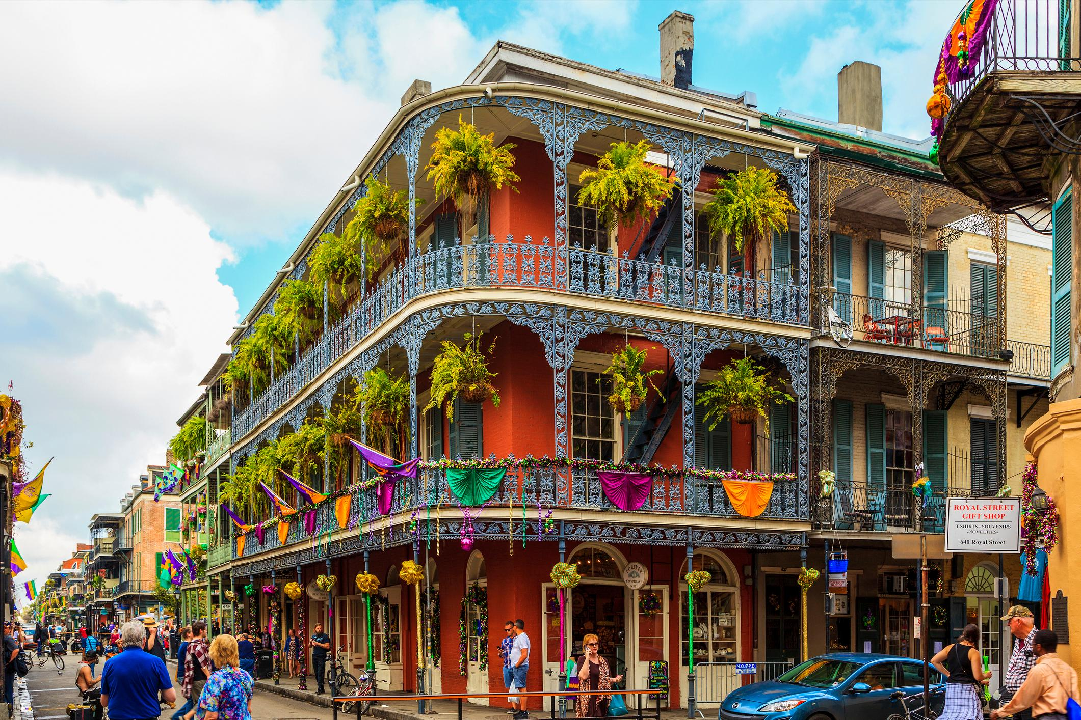 Party Time in New Orleans USA