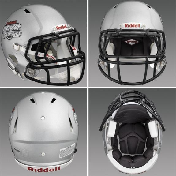 Riddel's Revolution helmet