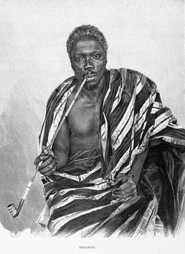 Béhanzin, the last king of an independent Dahomey.