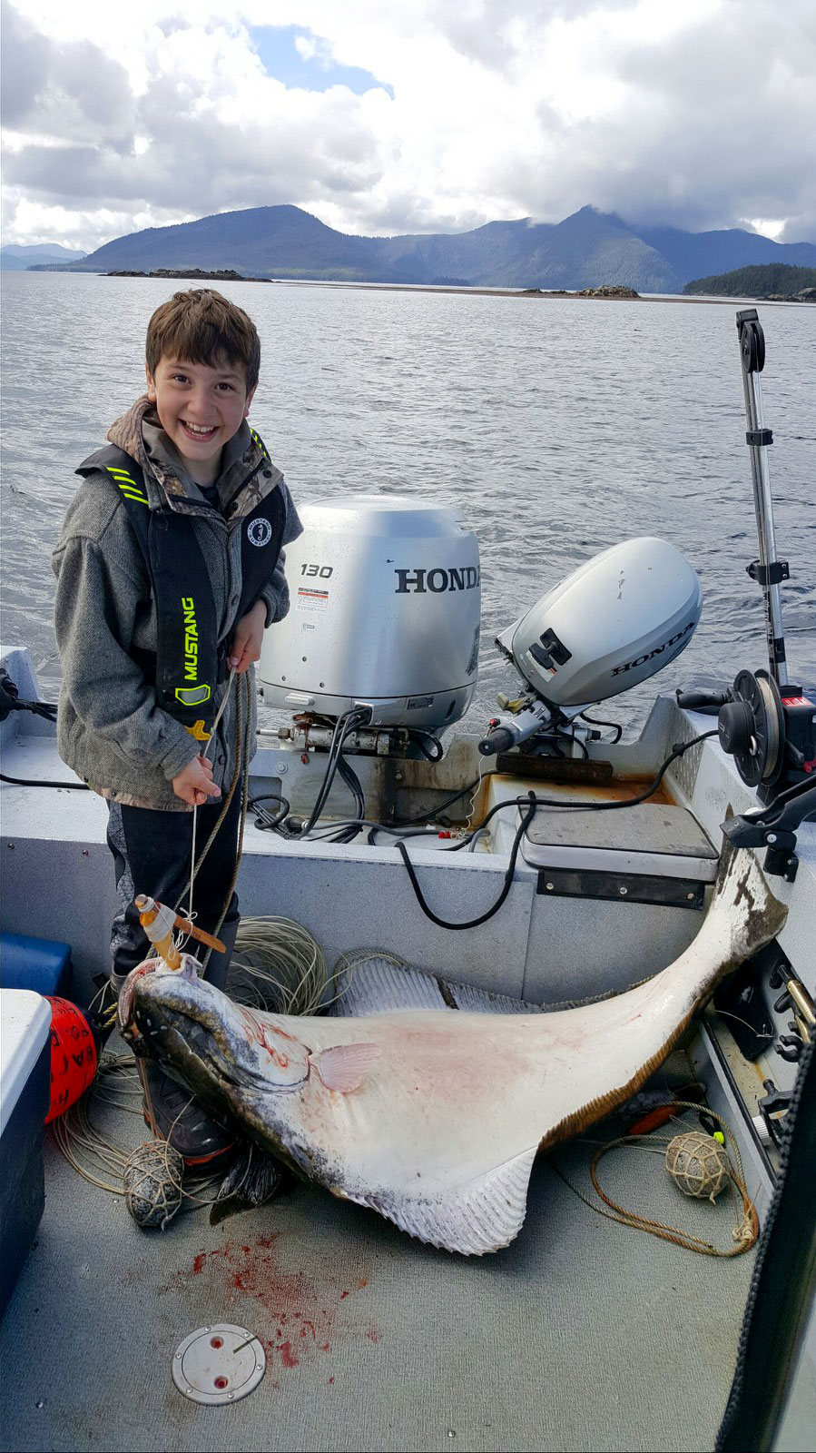 Kid Caught Fish