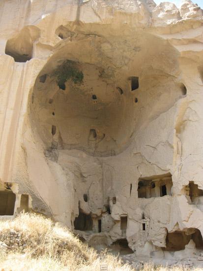 The monastery of Zelve