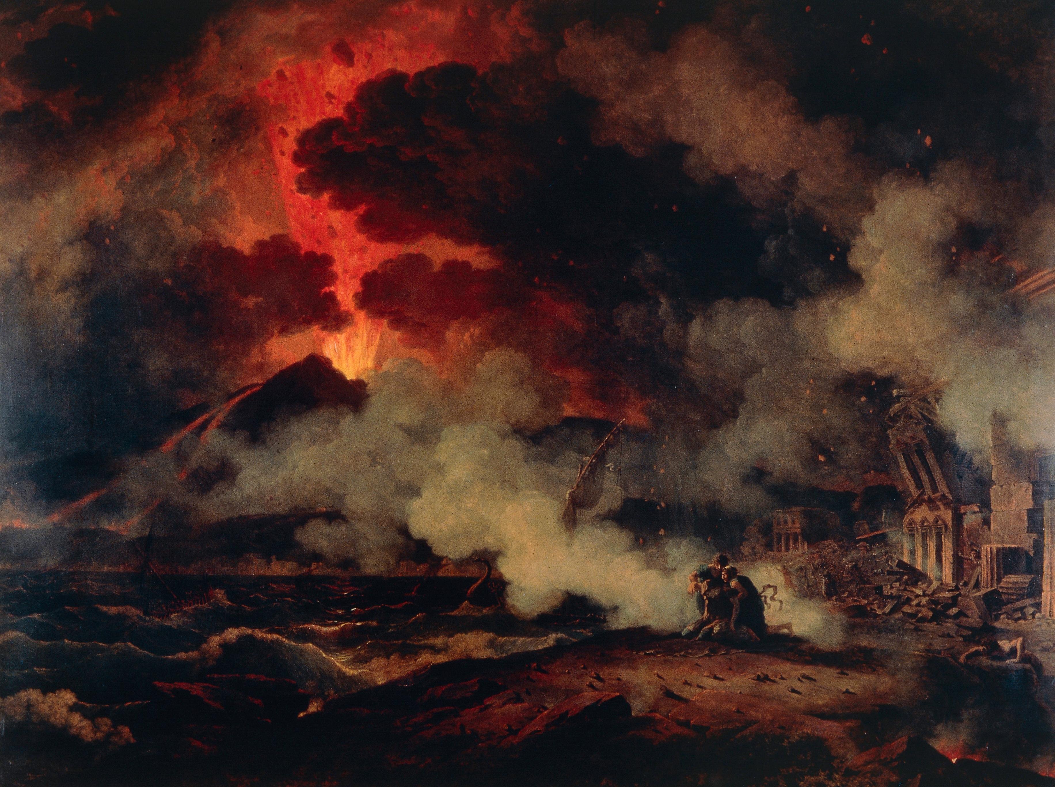 Vesuvius' eruption