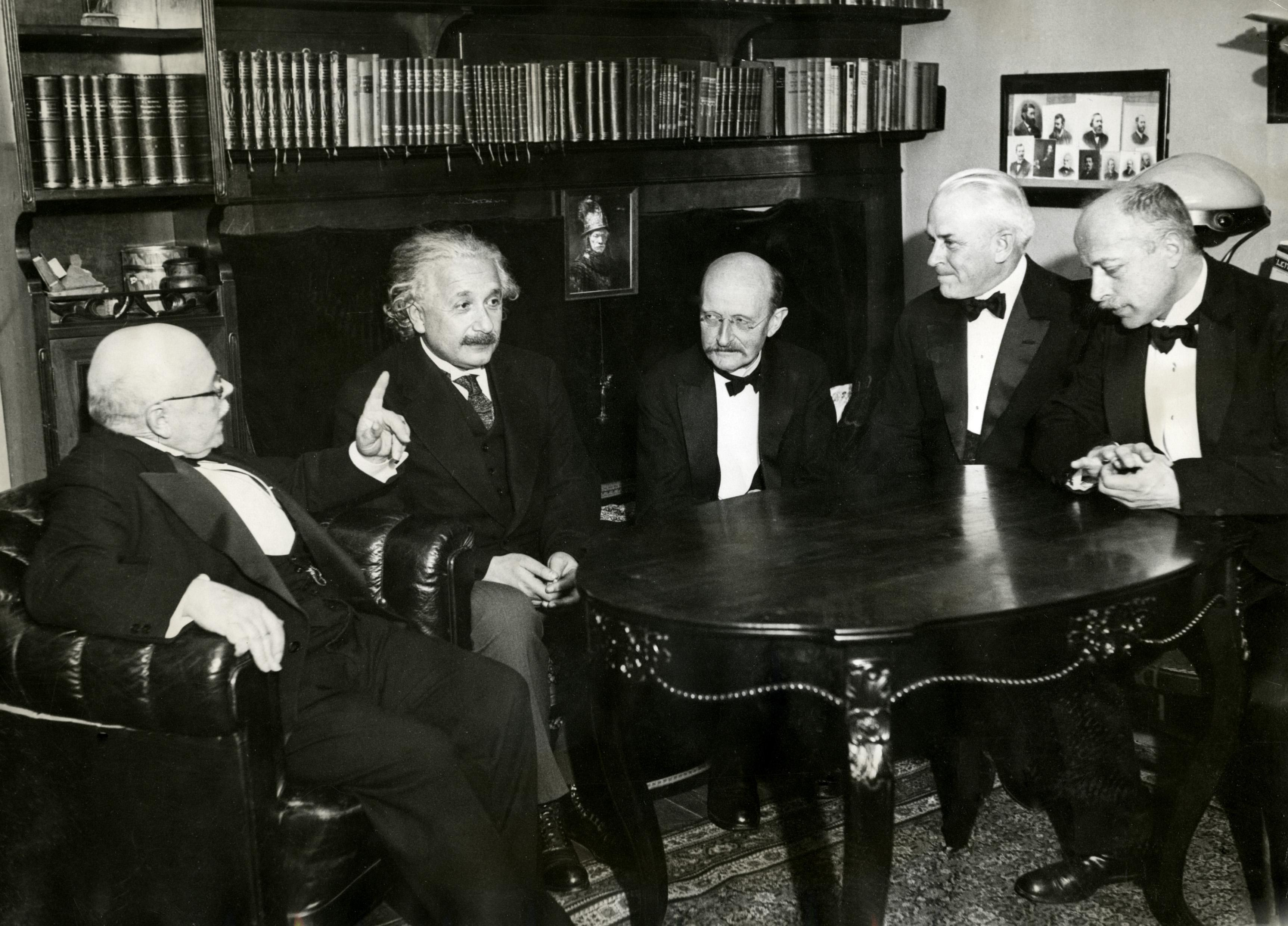 Einstein and Planck