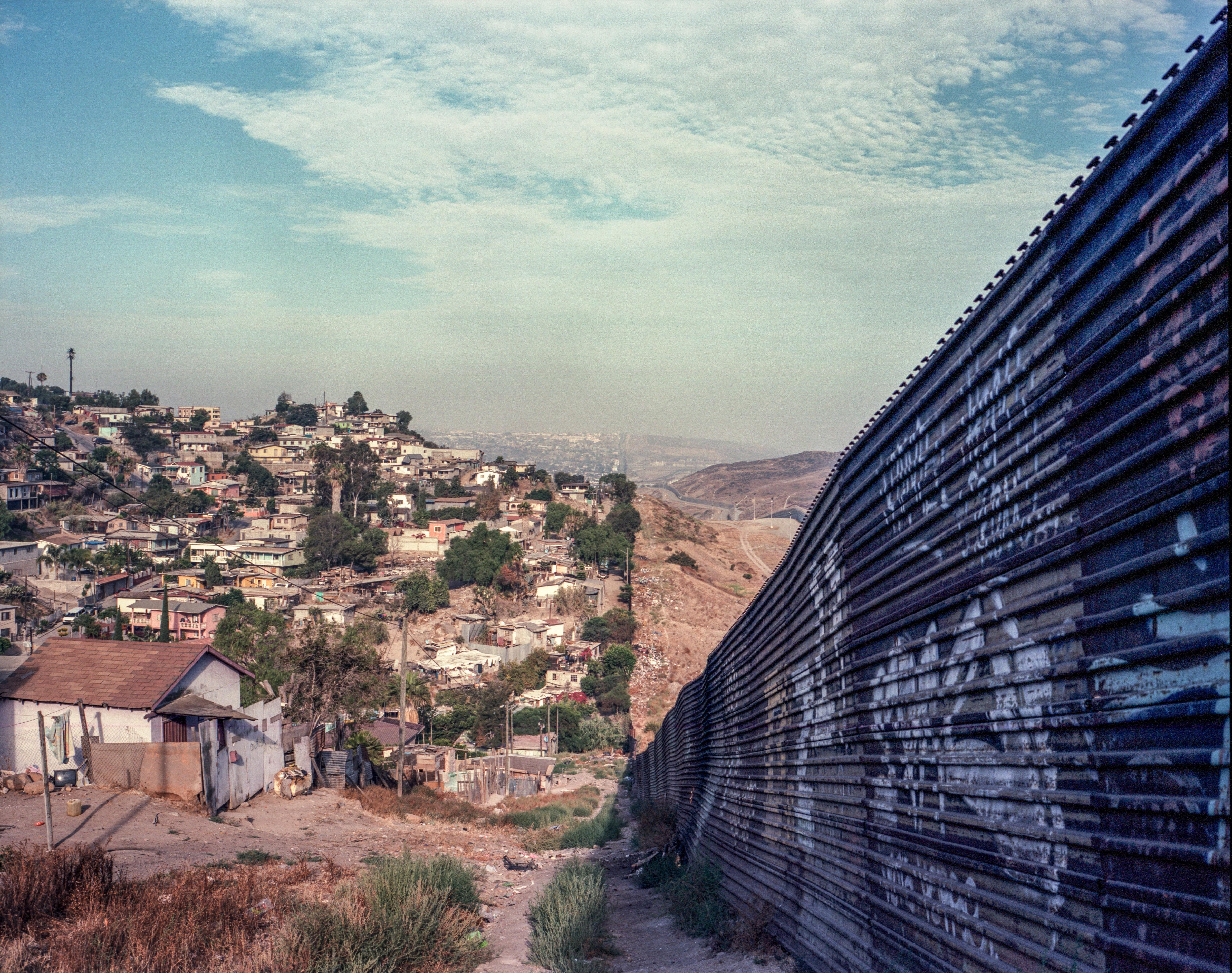 U S Mexico Border At Tijuana And San Ysidro