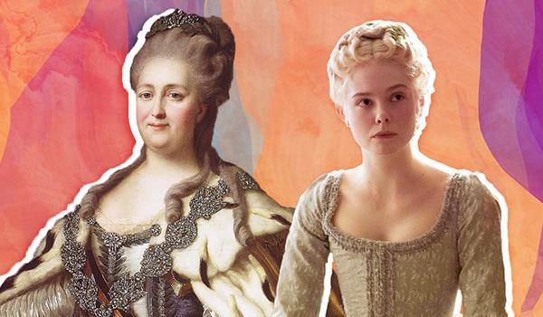 Elle Fanning portrays the eponymous empress in Hulu's