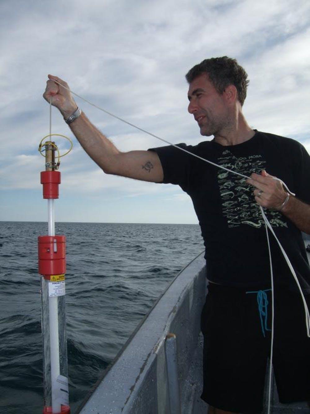 Stefano sampling in Belize