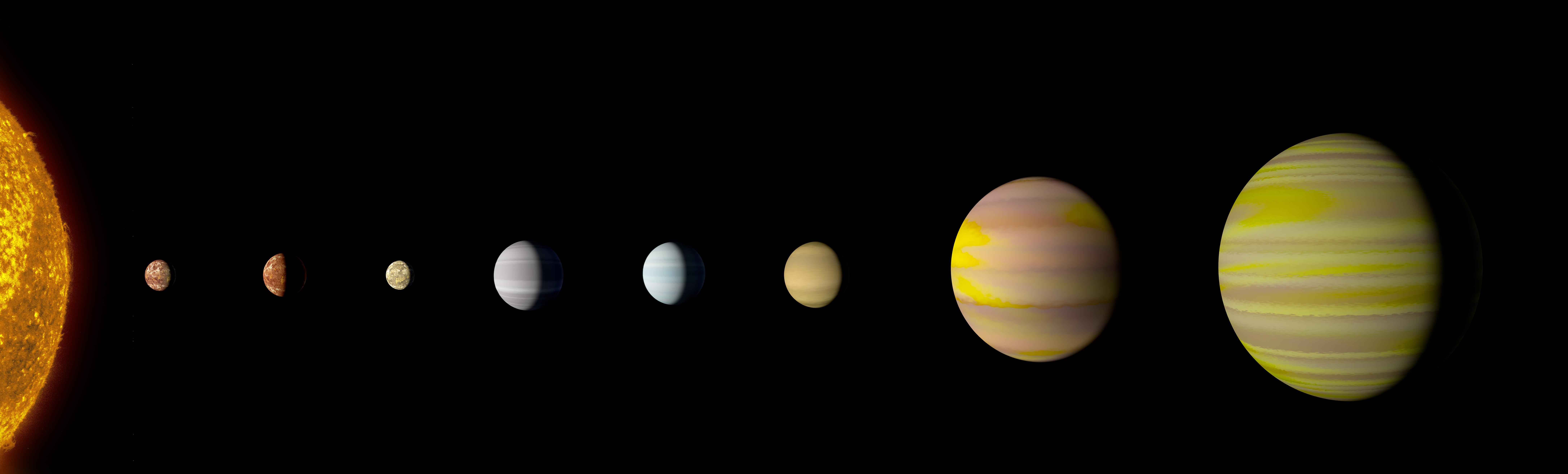 8 planet solar system