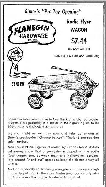How An Italian Immigrant Rolled Out The Radio Flyer Wagon Across