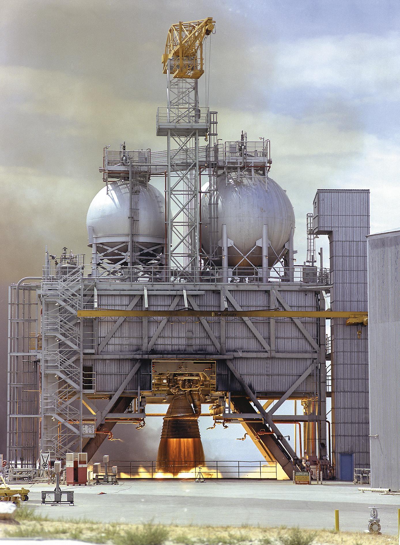 We Built The Saturn V Space Air Magazine Carrier Evolution Wiring Diagram Free Picture Rocketdynes Kerosene Burning F 1 Engine