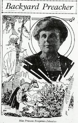 Alfred Steiglitz, Johnston