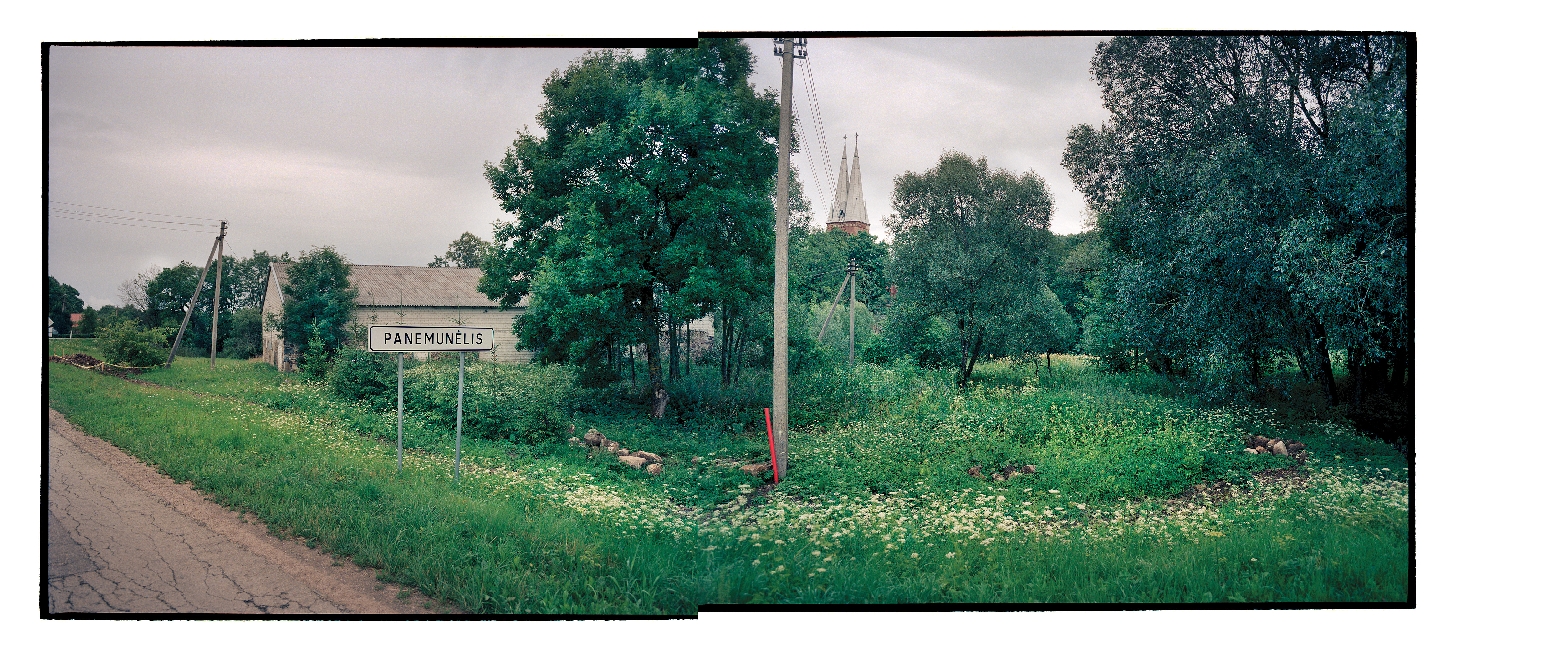 Road to Matilda Olkin's hometown