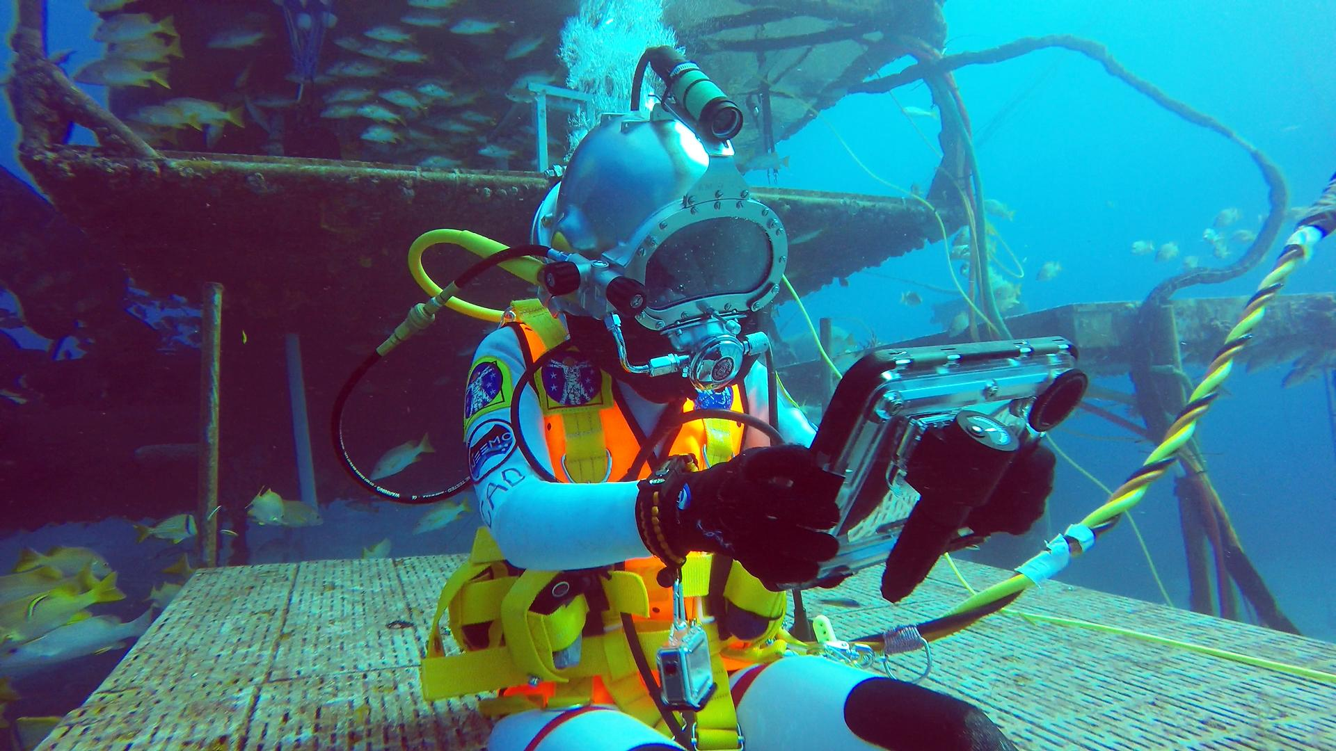 NASA Scientists and Astronauts Practice for Space Missions on the Seafloor