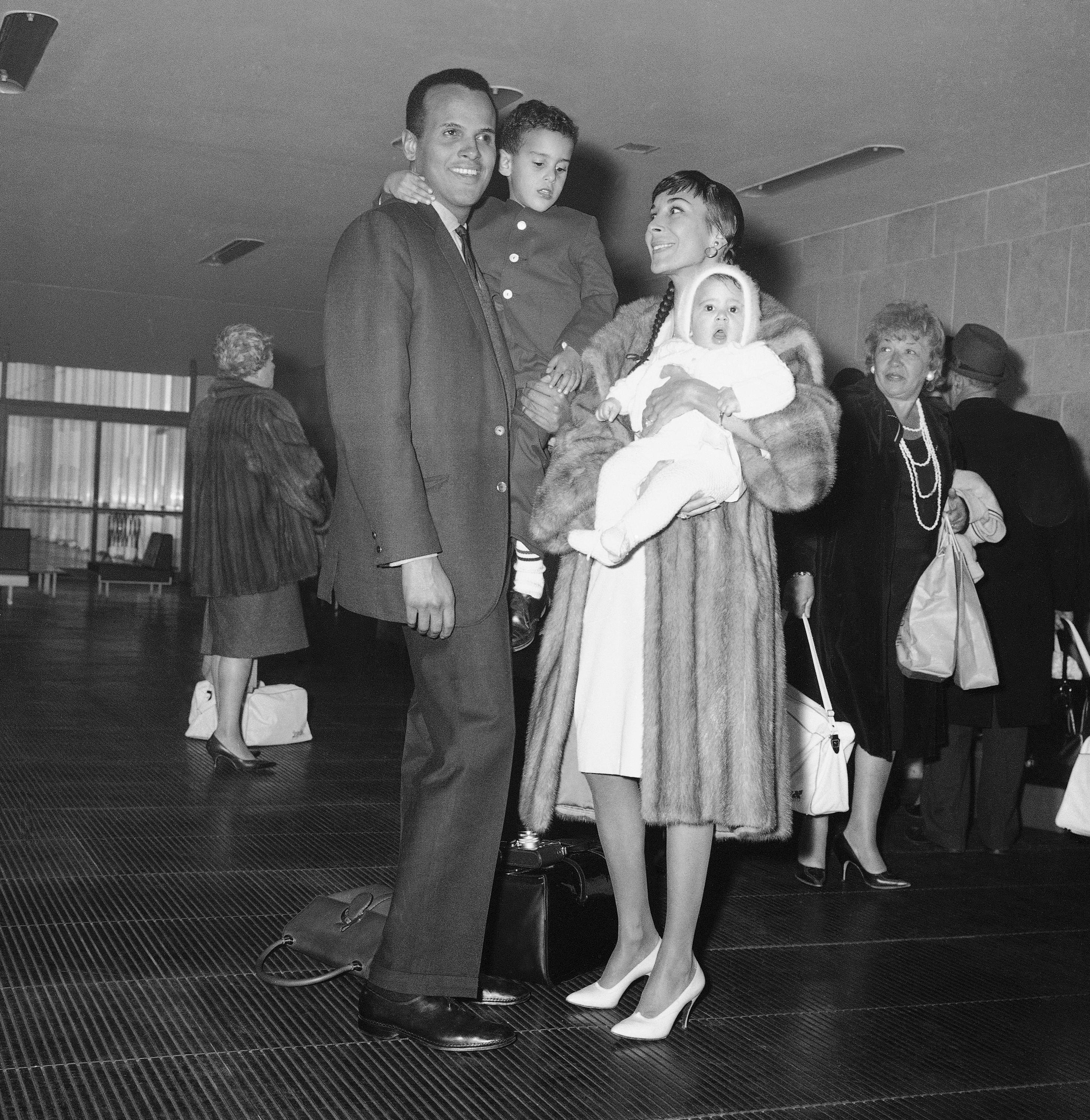 Harry Belafonte and Family