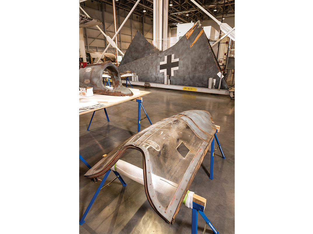 The Horten flying wing canopy