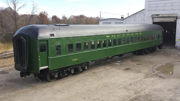 Rail Car No. 1200