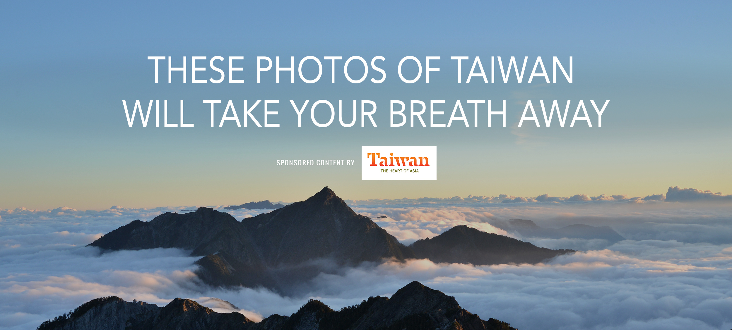 These Photos of Taiwan Will Take Your Breath Away