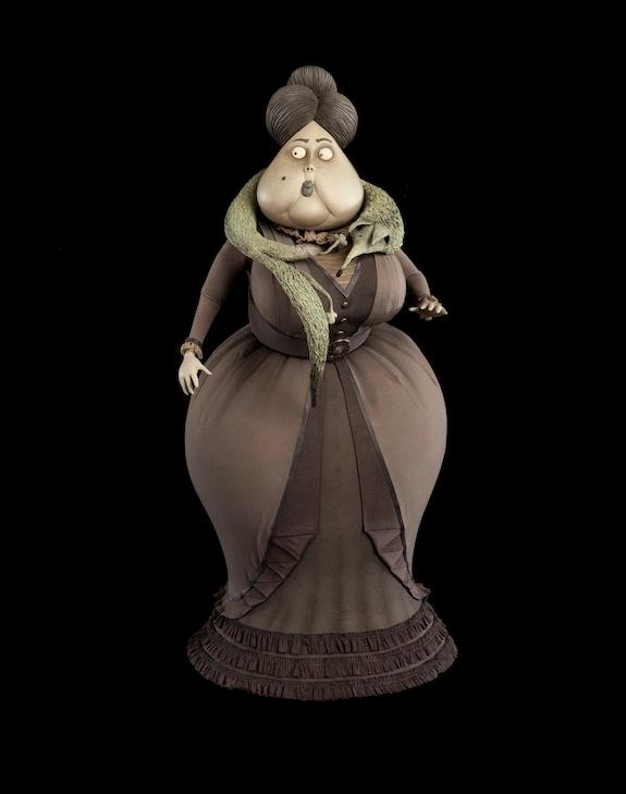 """Nell Van Dort puppet from the """"Corpse Bride"""""""