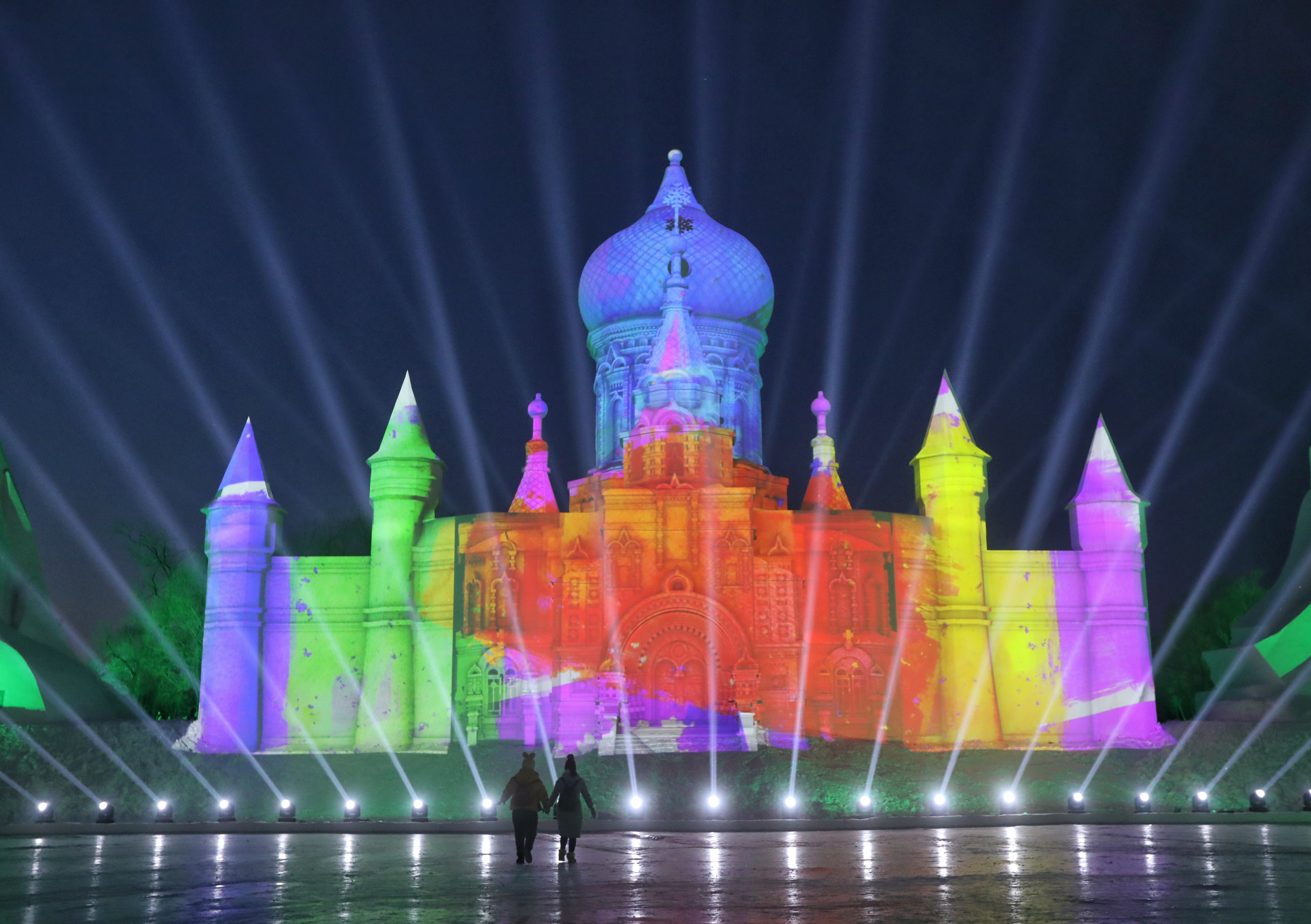 Snow Castles, Harbin International Ice and Snow Festival