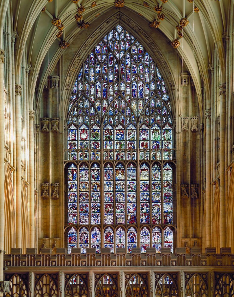 York Minister S Massive Medieval Stained Glass Window