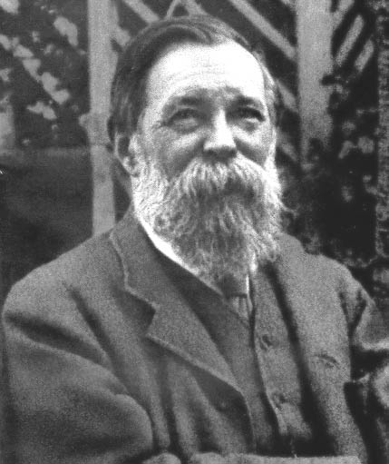 Engels in later life. He died in 1895, at age 74.
