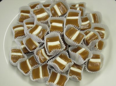 Marshmallow never found a better home than in the middle of a Velatis Vanilla Chewy Marshmallow.