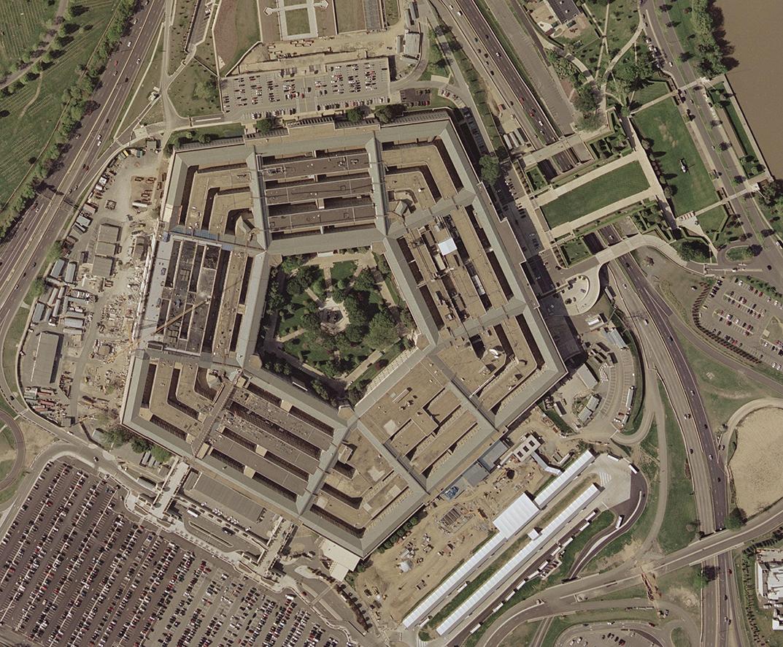 Aerial Pentagon, 2002