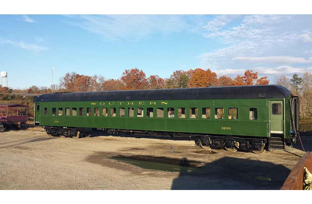 Railway Car, No. 1200