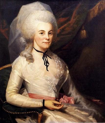 Elizabeth Hamilton, 1787. Museum of the City of New York