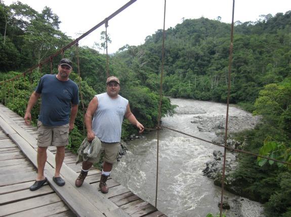Paul Salazar and Curt McGary