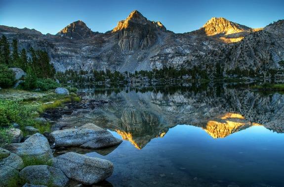 The Rae Lakes