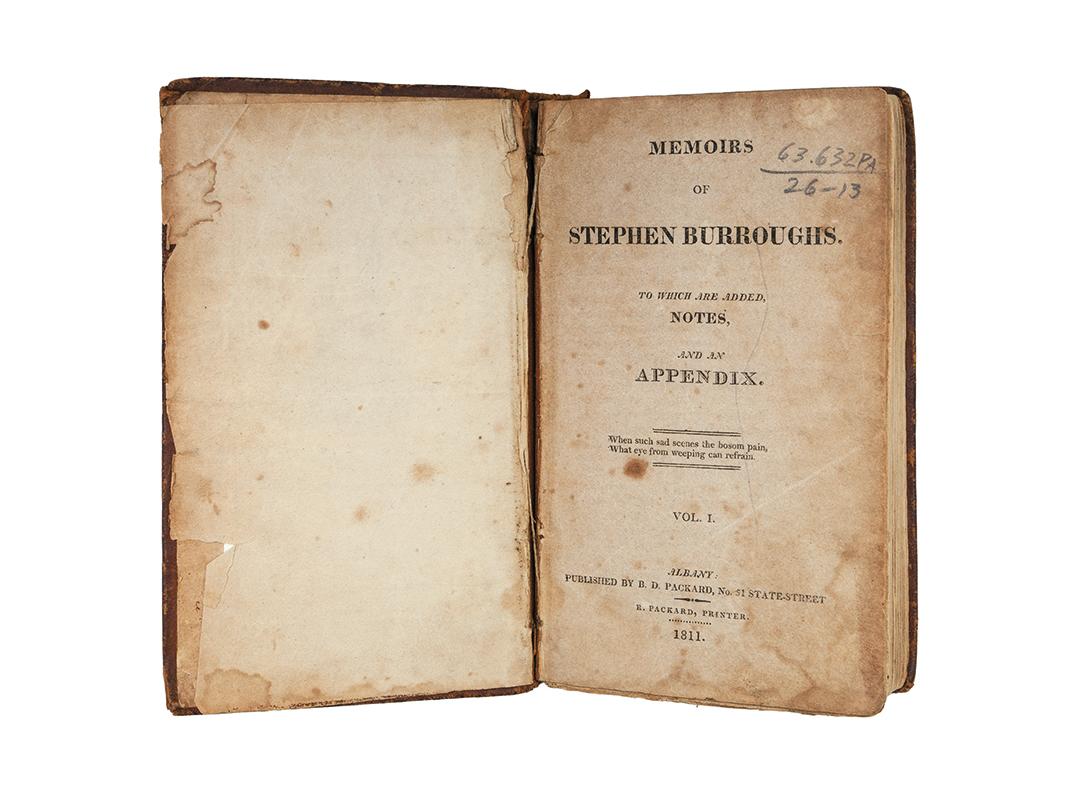 Burroughs Memoirs